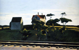 Edward Hopper - New York, New Haven and Hartford