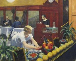 Edward Hopper - Tables for Ladies