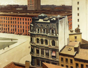 Edward Hopper - The City