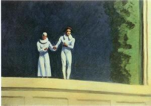 Edward Hopper - Two Comedians