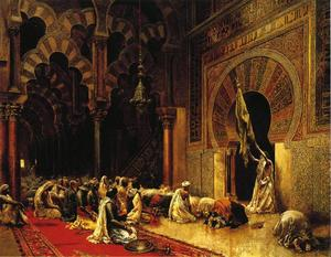 Edwin Lord Weeks - Interior of the Mosque at Cordova