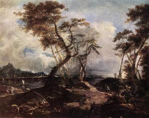 Francesco Lazzaro Guardi - Landscape
