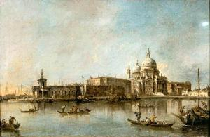 Francesco Lazzaro Guardi - Santa Maria delle Salute and the Dogma