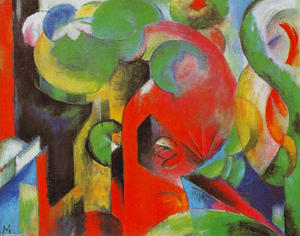 Franz Marc - Small Composition III