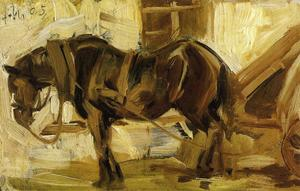 Franz Marc - Small Horse Study