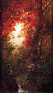 Frederic Edwin Church - Autumn Landscape, Vermont