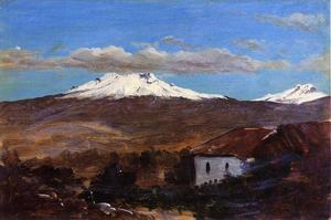 Frederic Edwin Church - Mount Chimborazo, Ecuador, Shown from Riiobamba