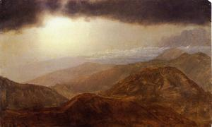 Frederic Edwin Church - Storm in the Mountains 1