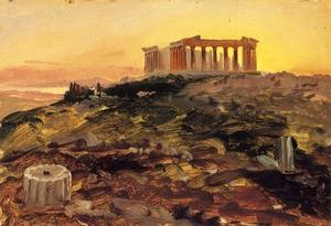 Frederic Edwin Church - The Parthenon from the Southeast
