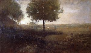 George Inness - Hazy Morning, Montclair