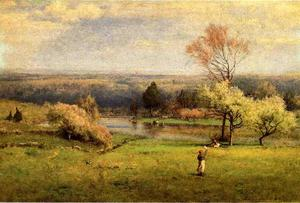 George Inness - Pond at Milton on the Hudson 1