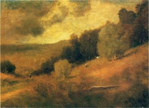 George Inness - Stormy Day