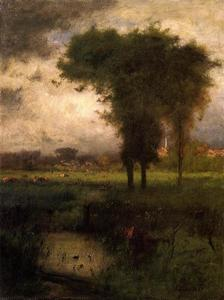 George Inness - Summer, Montclair