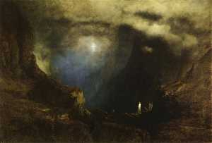 George Inness - The Valley of the Shadow of Death