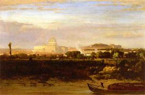George Inness - View of St. Peter-s, Rome
