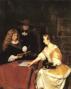 Gerard Ter Borch The Younger - A Concert