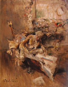 Giovanni Boldini - The Art Connoisseur