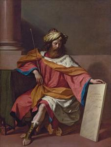 Guercino (Barbieri, Giovanni Francesco) - King David