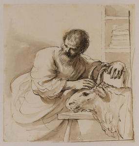 Guercino (Barbieri, Giovanni Francesco) - Saint Luke
