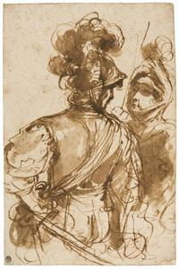 Guercino (Barbieri, Giovanni Francesco) - Two Warriors