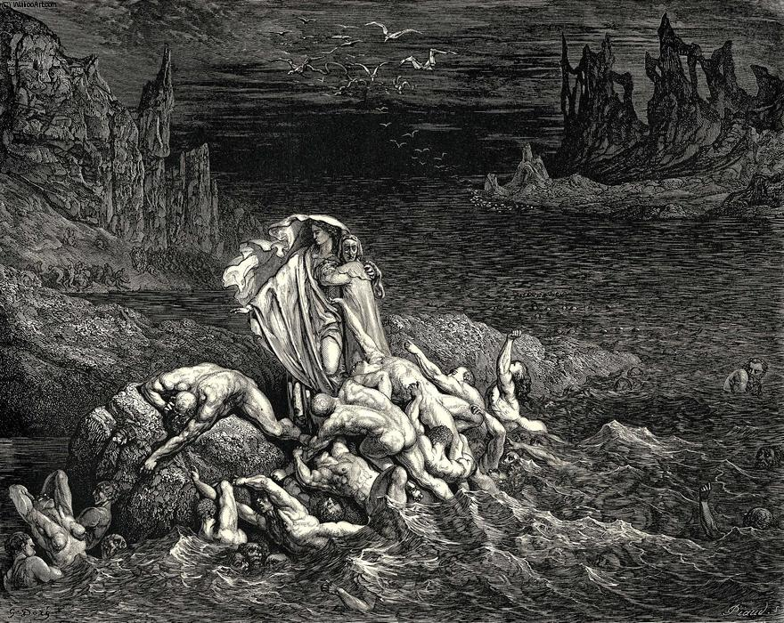dantes inferno and the garden of In dante's epic poem inferno, the nine circles of hell are, from top to bottom, limbo, lust, gluttony, greed, anger, heresy, violence, fraud and treachery on these circular levels, sinners are.
