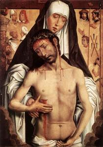 Hans Memling - The Virgin Showing the Man of Sorrows 1