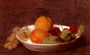 Henri Fantin Latour - A Bowl Of Fruit