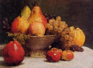 Henri Fantin Latour - Bowl of Fruit