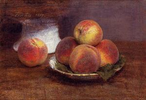 Henri Fantin Latour - Bowl of Peaches
