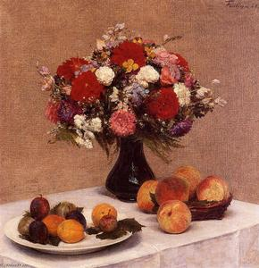 Henri Fantin Latour - Flowers and Fruit
