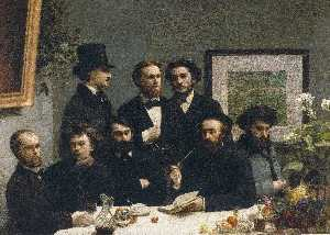 Henri Fantin Latour - By the Table