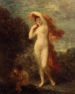 Henri Fantin Latour - Venus and Cupid