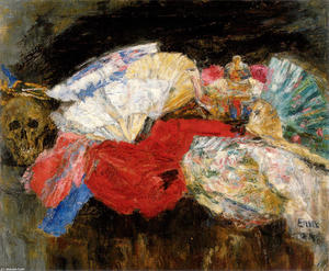 James Ensor - Fans and Stuffs