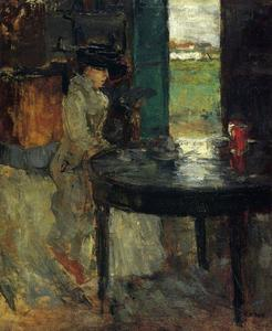 James Ensor - L' Attente