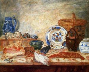 James Ensor - Poissons homard et coquillages
