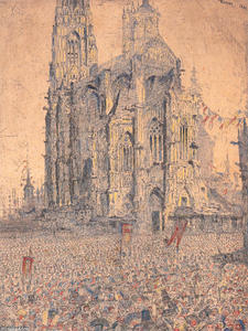 James Ensor - The Cathedral