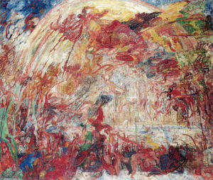 James Ensor - The Fall of the Rebellious Angels