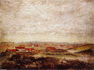 James Ensor - The Flemish Flats Seen from the Dunes