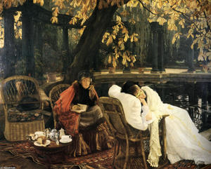 James Jacques Joseph Tissot - A Convalescent