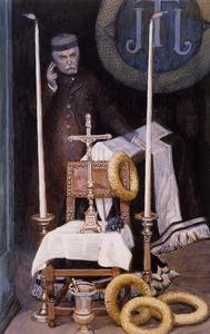 James Jacques Joseph Tissot - Portrait of the Pilgrim