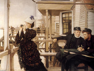 James Jacques Joseph Tissot - The Captain's Daughter