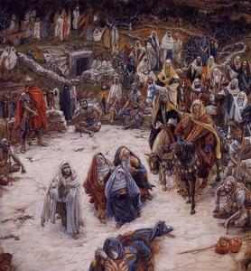 James Jacques Joseph Tissot - What Our Saviour Saw from the Cross