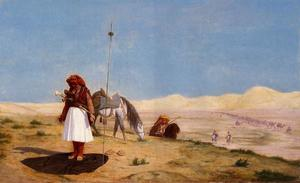 Jean Léon Gérôme - Prayer in the Desert