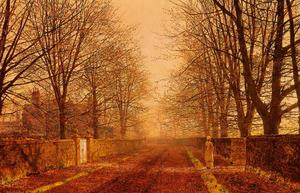 John Atkinson Grimshaw - Golden Light
