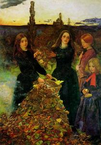 John Everett Millais - Autumn Leaves