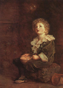 John Everett Millais - Bubbles