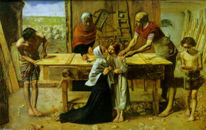 John Everett Millais - Christ in the House of His Parents