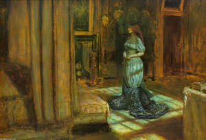 John Everett Millais - The Eve of St. Agnes