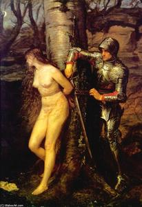 John Everett Millais - The Knight Errant