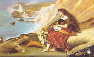 John Everett Millais - The Romans Leaving Britain